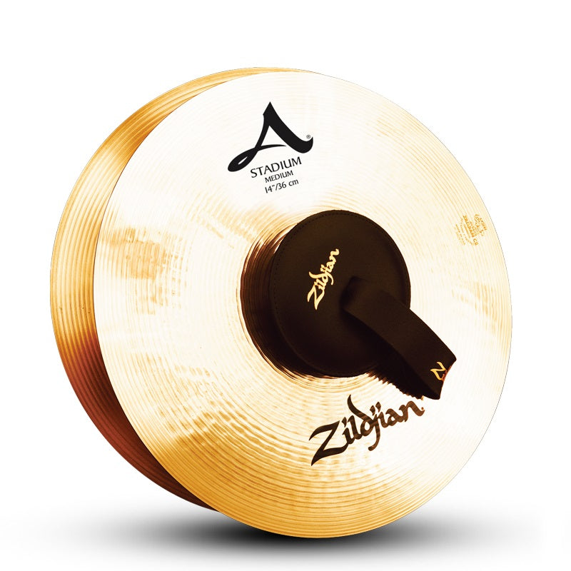 "Zildjian 14"" A Stadium Medium Cymbals - Pair"