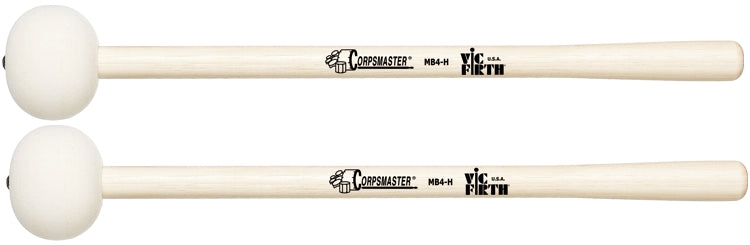 "Vic Firth MB4H Corpsmaster Marching Bass Drum Mallet, For 28"" - 30"" Bass Drums"