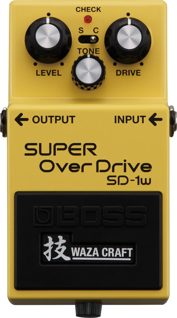 Boss SD-1W Super OverDrive Pedal - Waza Craft