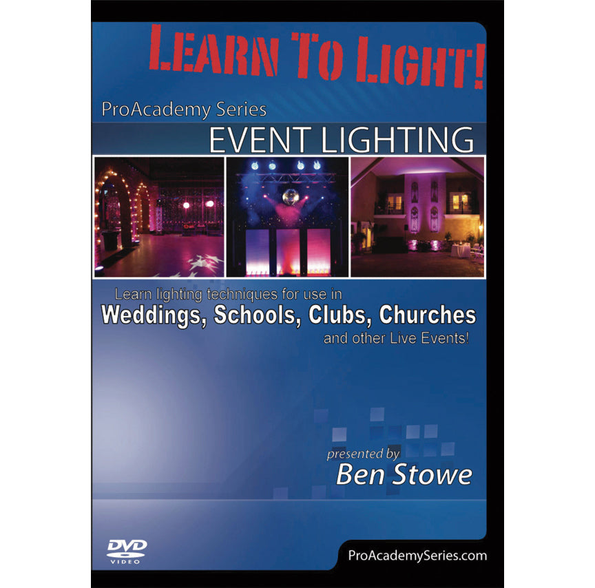 Alfred Event Lighting DVD