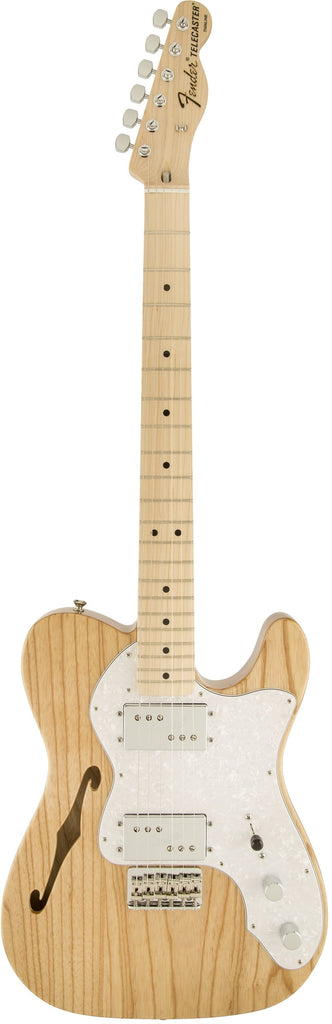 Fender Classic Series '72 Telecaster Thinline, Maple Fingerboard, Natural