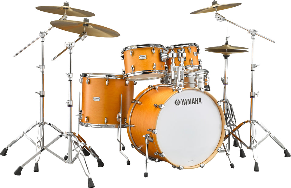 "Yamaha Tour Custom Drum Shell Pack W/ 20"" Kick - Caramel Satin"