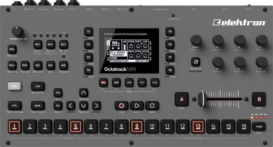 Elektron Octatrack MKII Performance Sampler