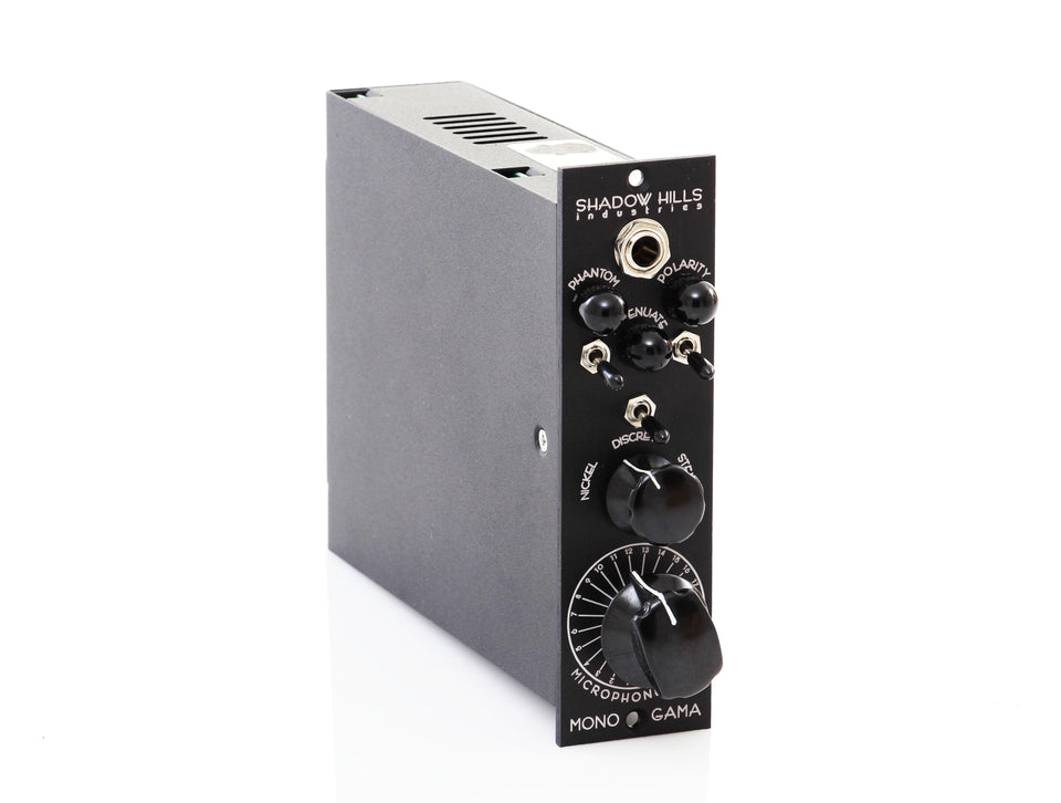 Shadow Hills Mono Gama Microphone Preamp