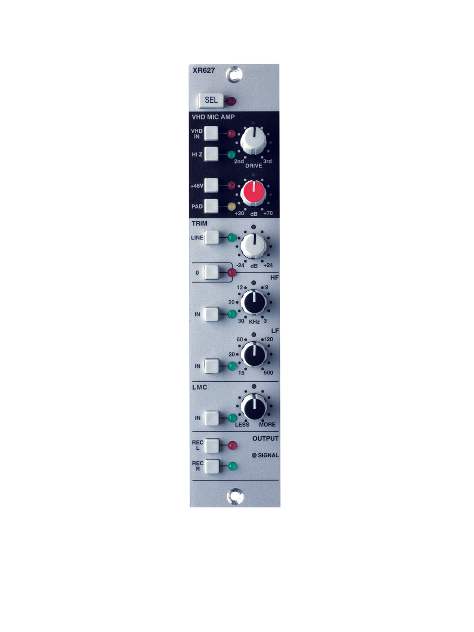 Solid State Logic X-Rack VHD Mic Pre Module With LMC