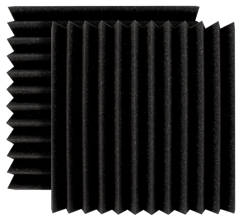 "Ultimate Support UA-WPW-12 Wedge-Style Absorption Panel Professional Studio Foam - 12""x12""x2"" (Pair)"