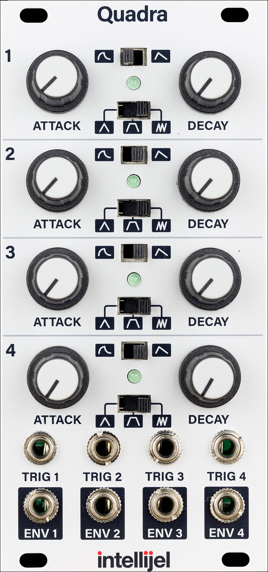 Intellijel Quadra Quad Function Envelope Generator Module