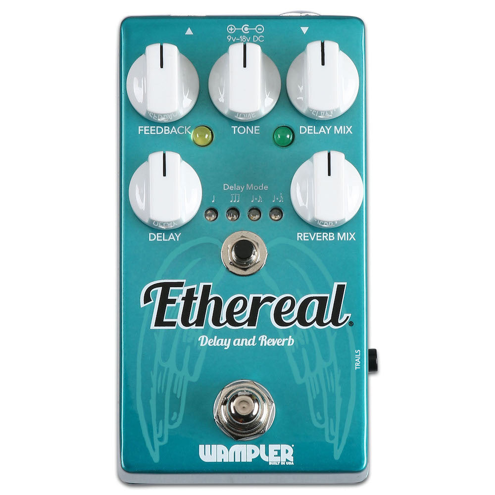 Wampler Ethereal Reverb And Delay Pedal