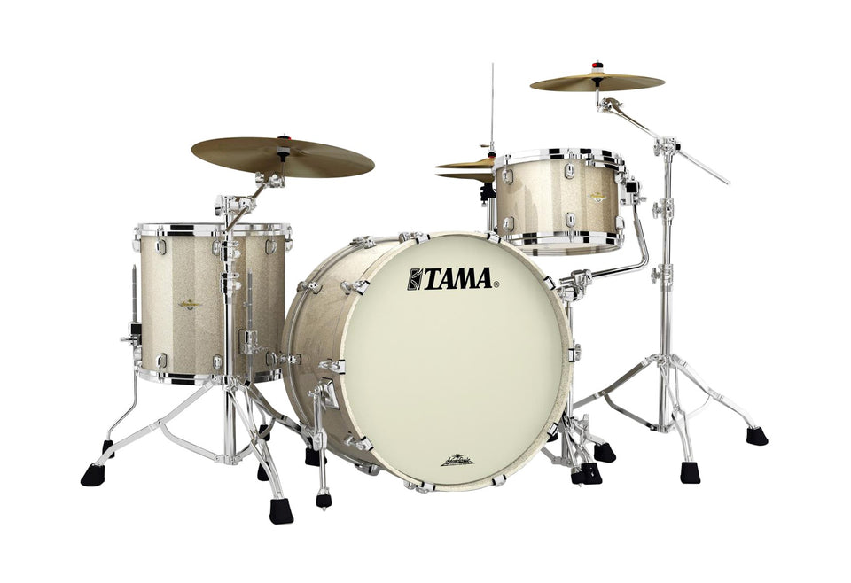 Tama Starclassic Maple 3 Piece Drum Set Shell Pack - Champagne Sparkle