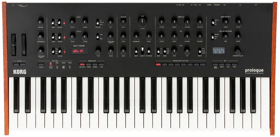 Korg Prologue-8 Voice 49 Key Analog Synthesizer