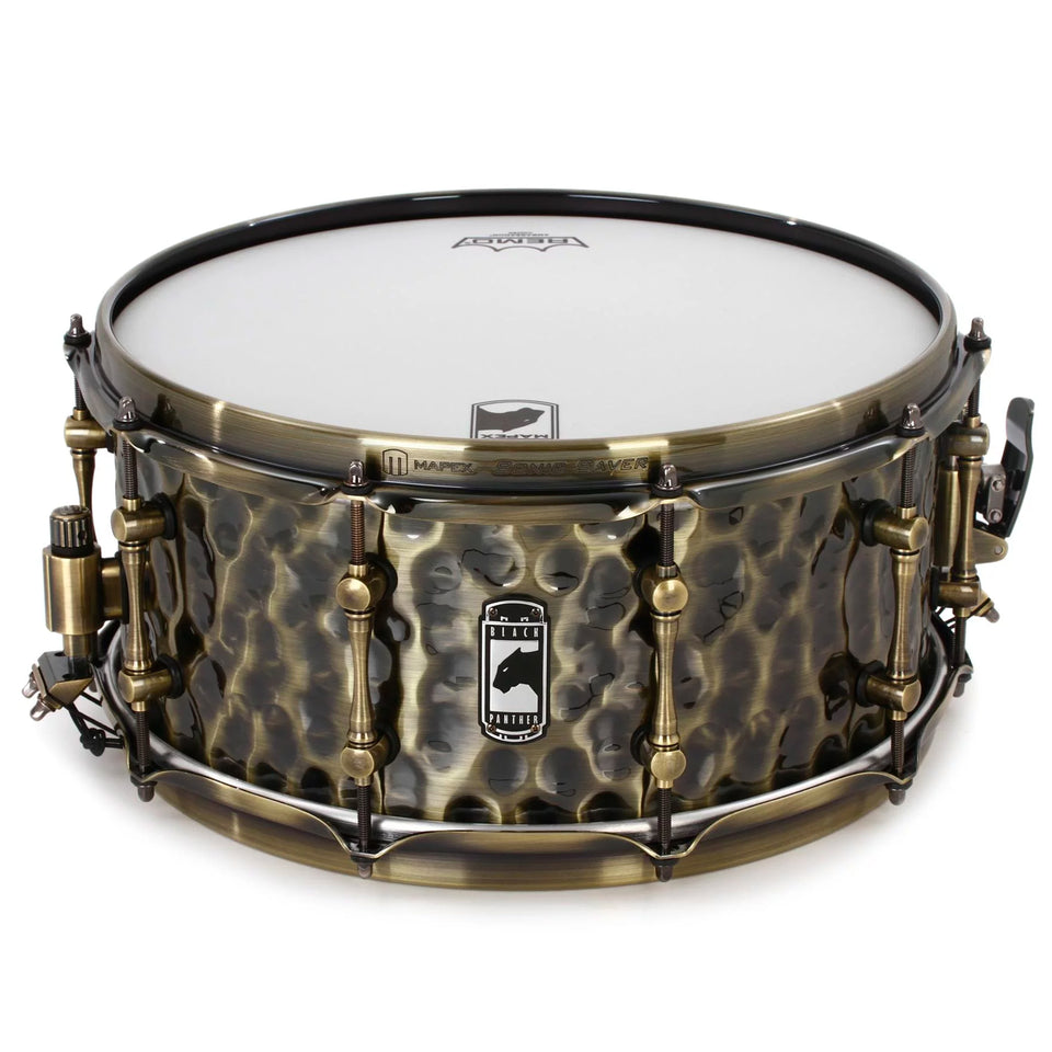 "Mapex 14"" x 6.5"" Black Panther Series Snare Drum Sledgehammer"