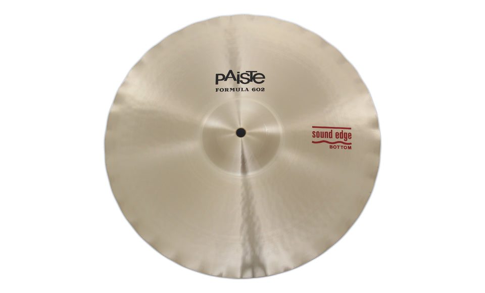 "Paiste 14"" Formula 602 Sound Edge Hi-Hat Bottom Cymbal"