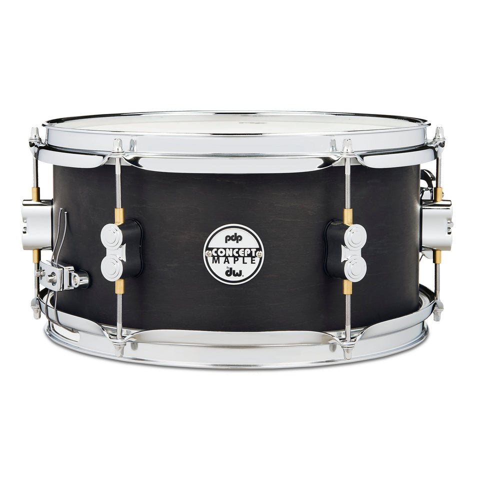 "PDP 12"" x 6"" Black Wax Maple Snare Drum"