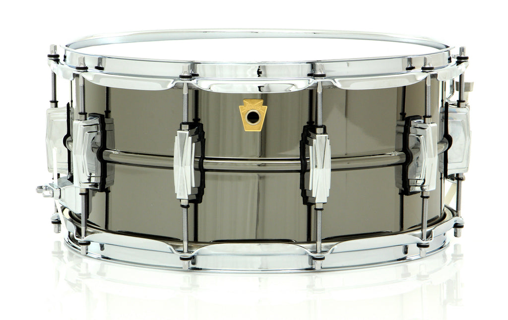"Ludwig 14"" x 6.5"" Black Beauty Snare Drum"