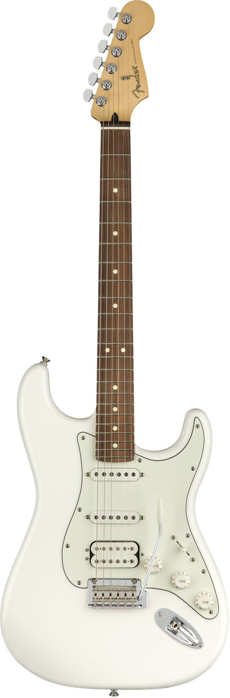Fender Player Strat HSS Electric Guitar, Pau Ferro Fingerboard