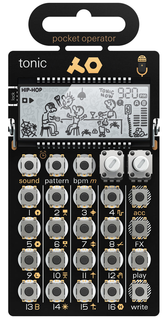 Teenage Engineering PO-32 Tonic Pocket Operator Drum Machine