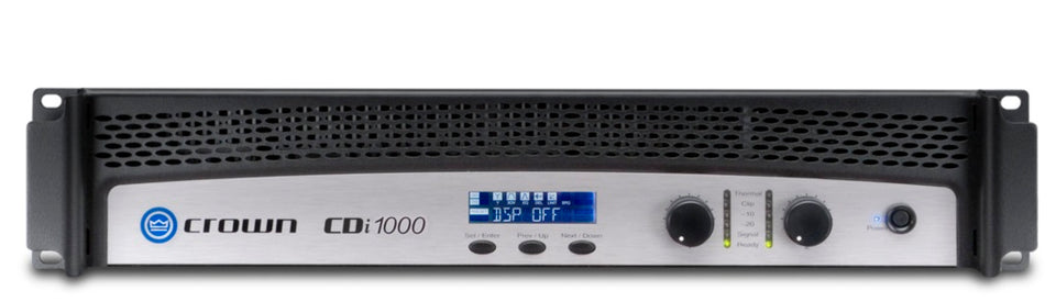 Crown Audio CDi 1000 2-Channel 500W Power Amplifier