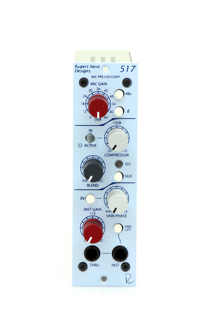 Rupert Neve Designs 500 Series 517 DI/Pre/Comp w/ Variphase
