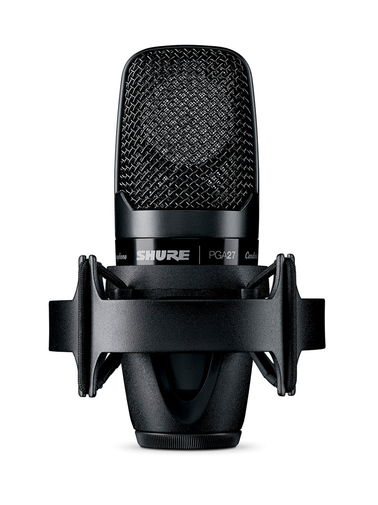 Shure PGA27-LC Large Diaphragm Side-Address Cardioid Condenser Microphone