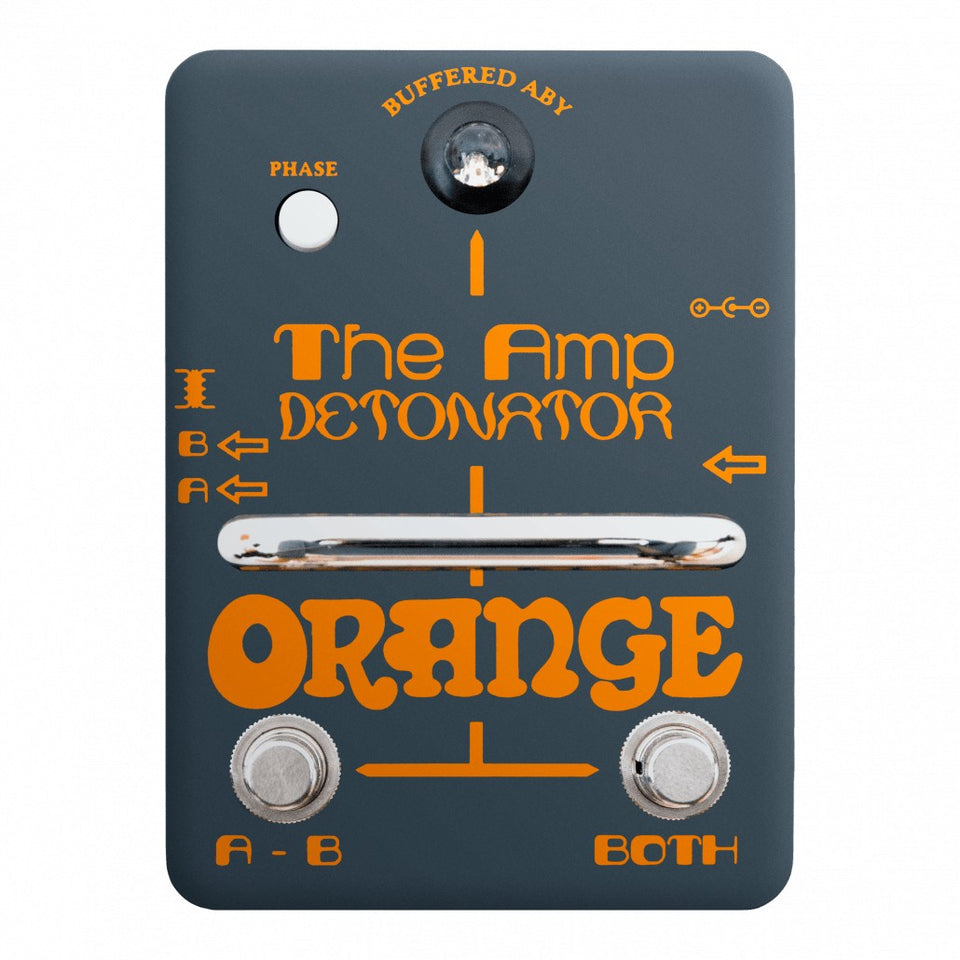 Orange Amp Detonator ABY Amp Switcher Guitar Pedal