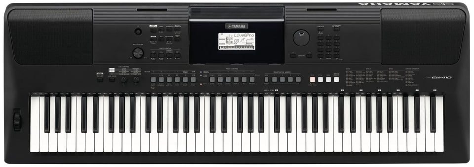 Yamaha PSR-EW410 Arranger Workstation