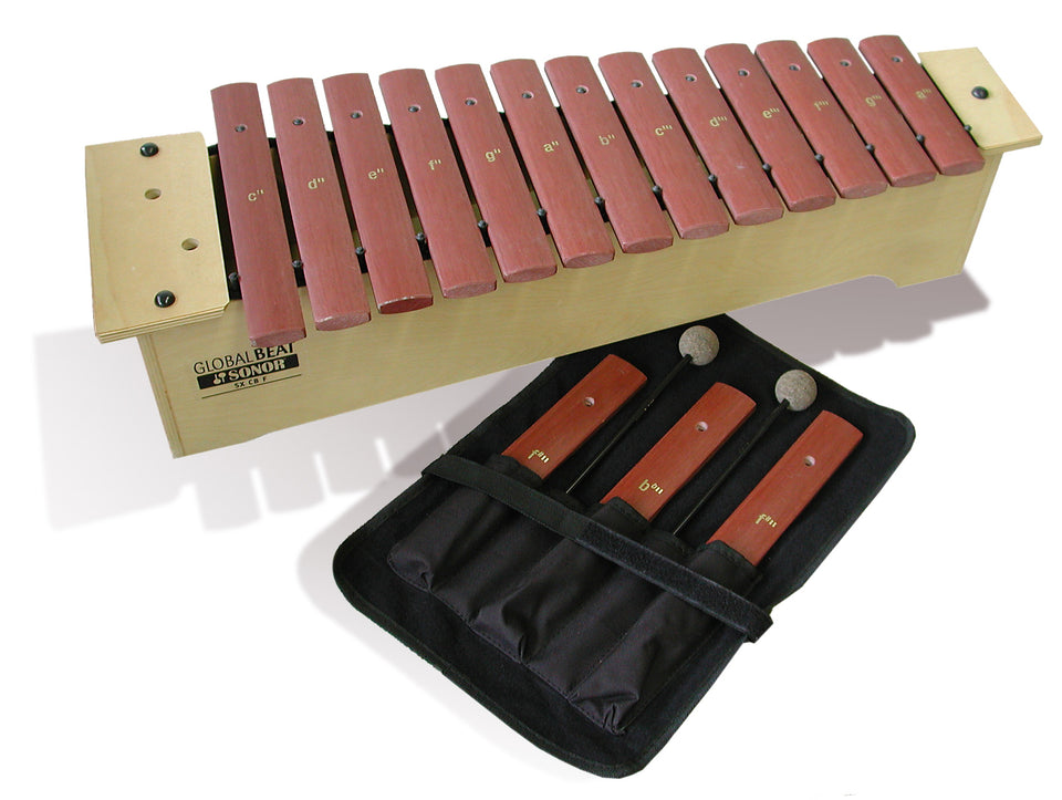 Sonor Orff SX-GBF Soprano Xylophone - Fiberglass Bars, Global Beat Series