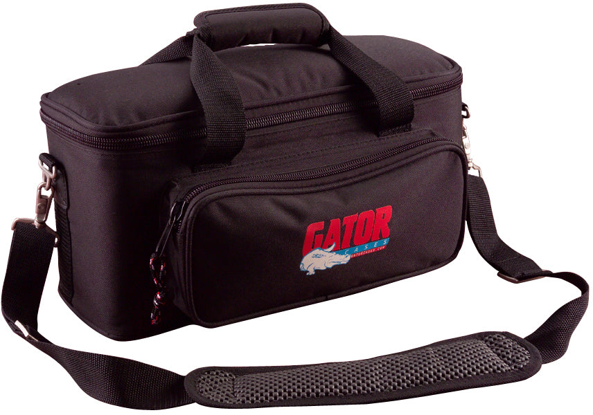 Gator GM-12B Padded Bag For Up To 12 Microphones.