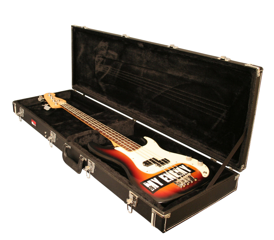 Gator Cases GW-BASS Deluxe Wood Case For Bass Guitars