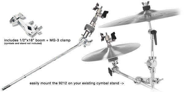 Drum Workshop DWSM9212 18-Inch C-Hat Arm W/ MG-3 Clamp
