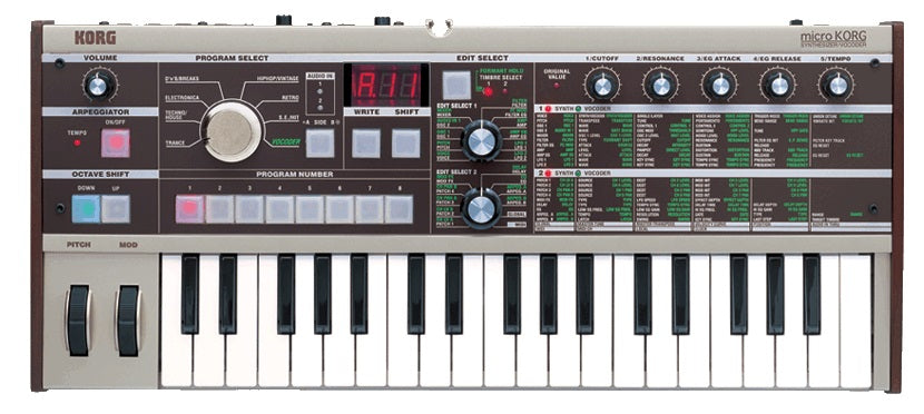 Korg microKORG 37 Key Synthesizer / Vocoder
