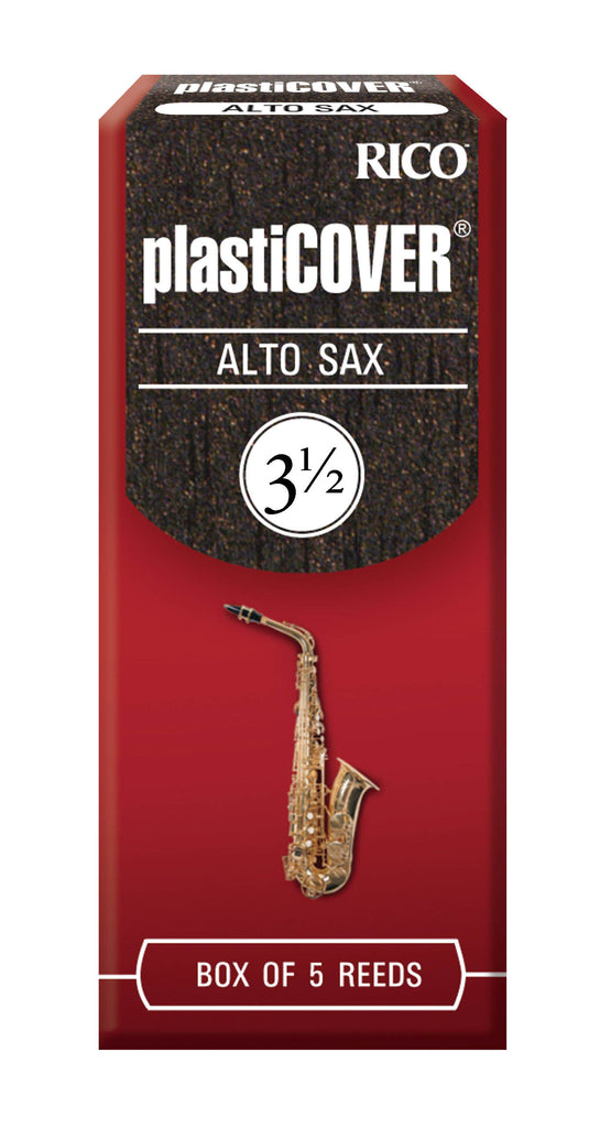 Ddaddario Woodwinds RRP05ASX350 Rico Plasticover Alto Sax Reeds, Strength 3.5, 5-pack