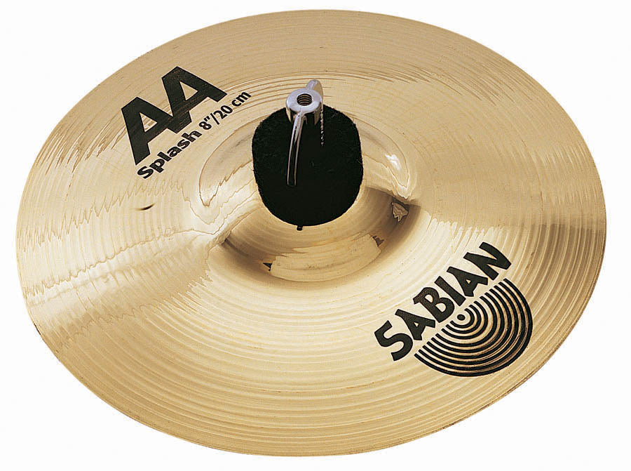 "Sabian 10"" AA Splash Cymbal Brilliant Finish"