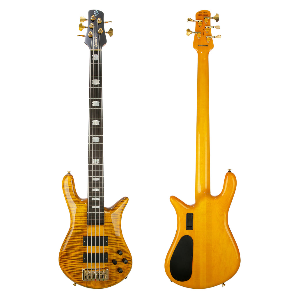 Spector Euro5 LT Weight Relieved 5-String Electric Bass - Tiger Eye Gloss