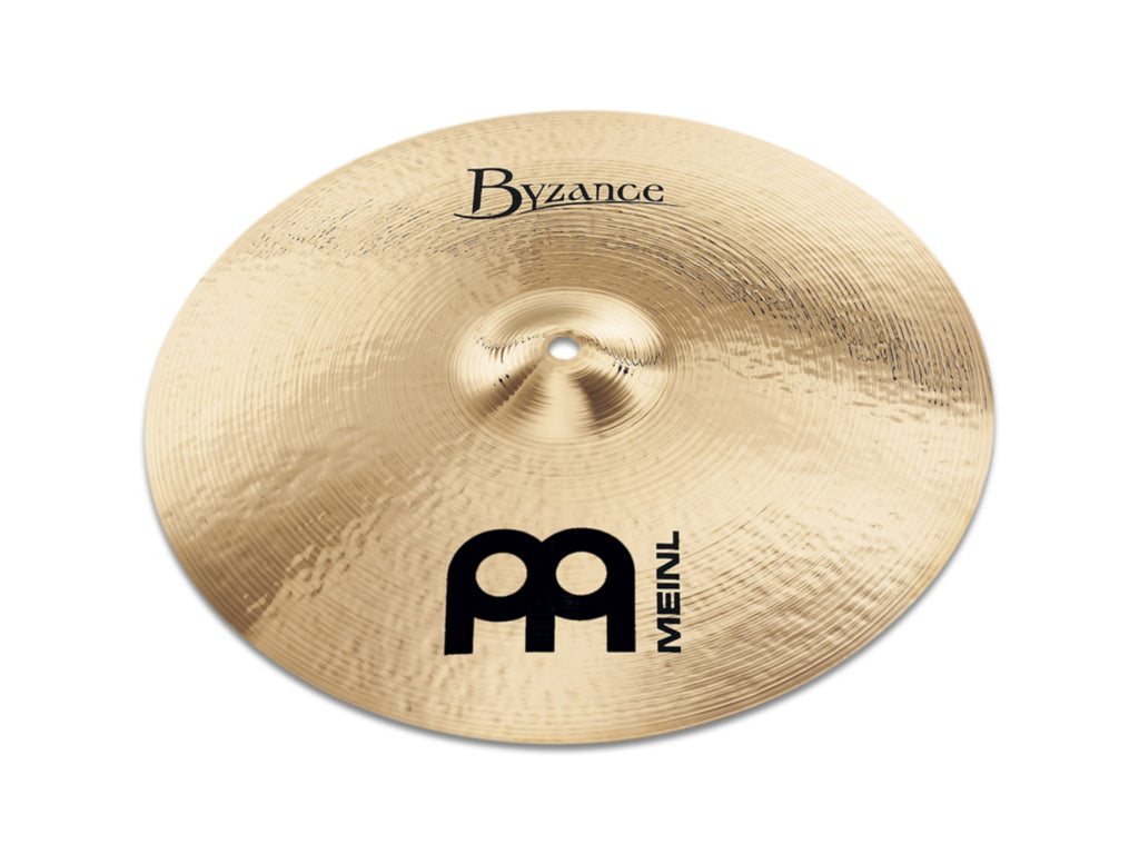 "Meinl 19"" Byzance Brilliant Medium Thin Crash Cymbal"