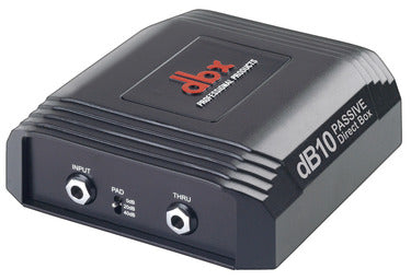 DBX dB10 Passive Direct Box