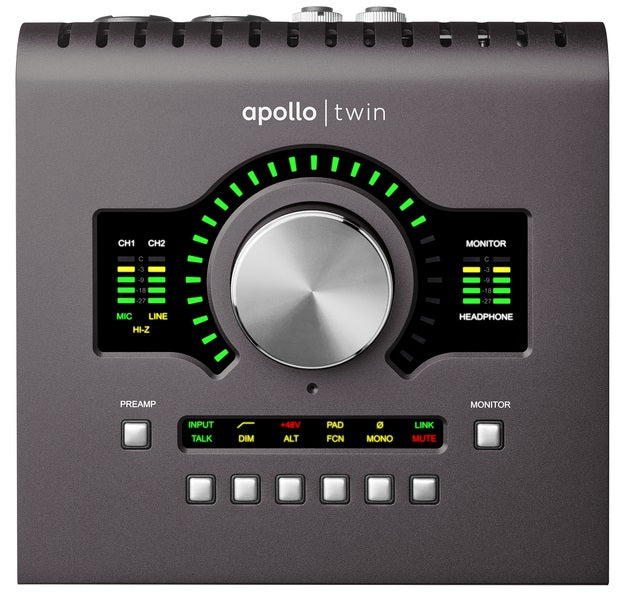 Universal Audio Apollo Twin QUAD MKII Thunderbolt Audio Interface