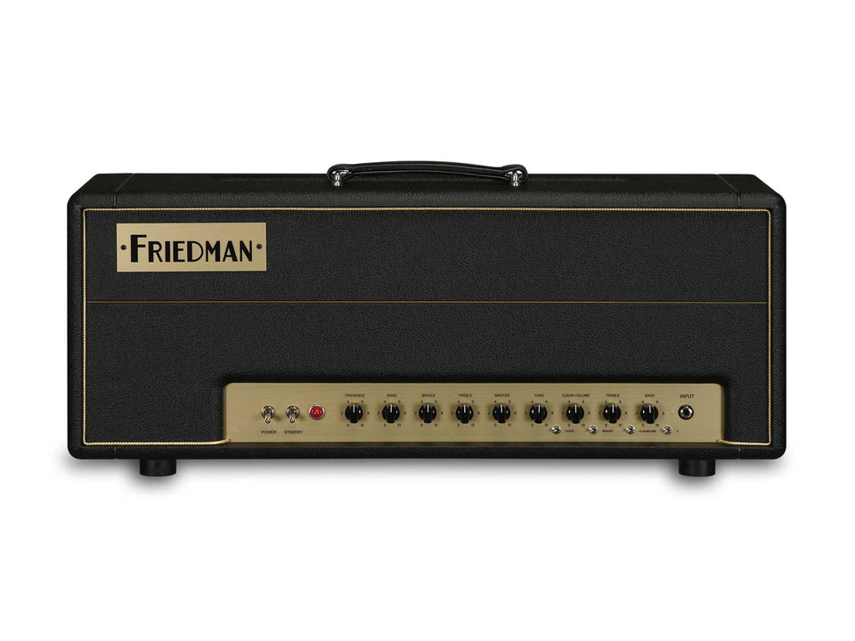 Friedman BE100 100W 2 Channel + Boost Handwired Guitar Amplifier Head