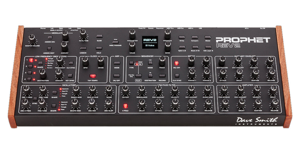 Sequential Prophet Rev 2 16-Voice Polyphonic Analog Synthesizer