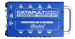 Radial Engineering RX4M 4-Channel Cat 5 Audio Snake