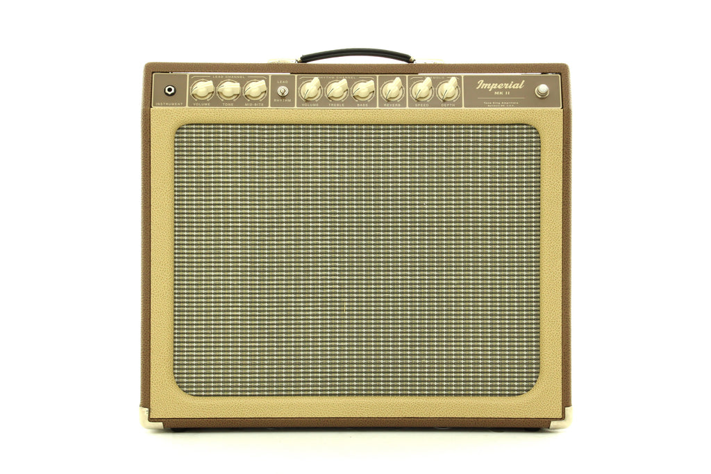 "Tone King Imperial MK II 1 x 12"" Combo Amplifier - Brown/Cream"
