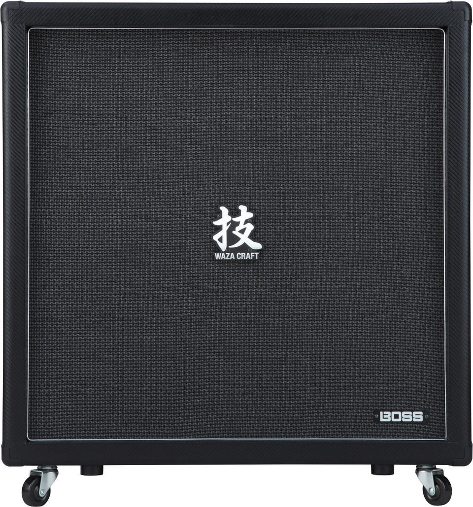 "Boss Waza Craft 4 x 12"" Guitar Amp Cabinet"