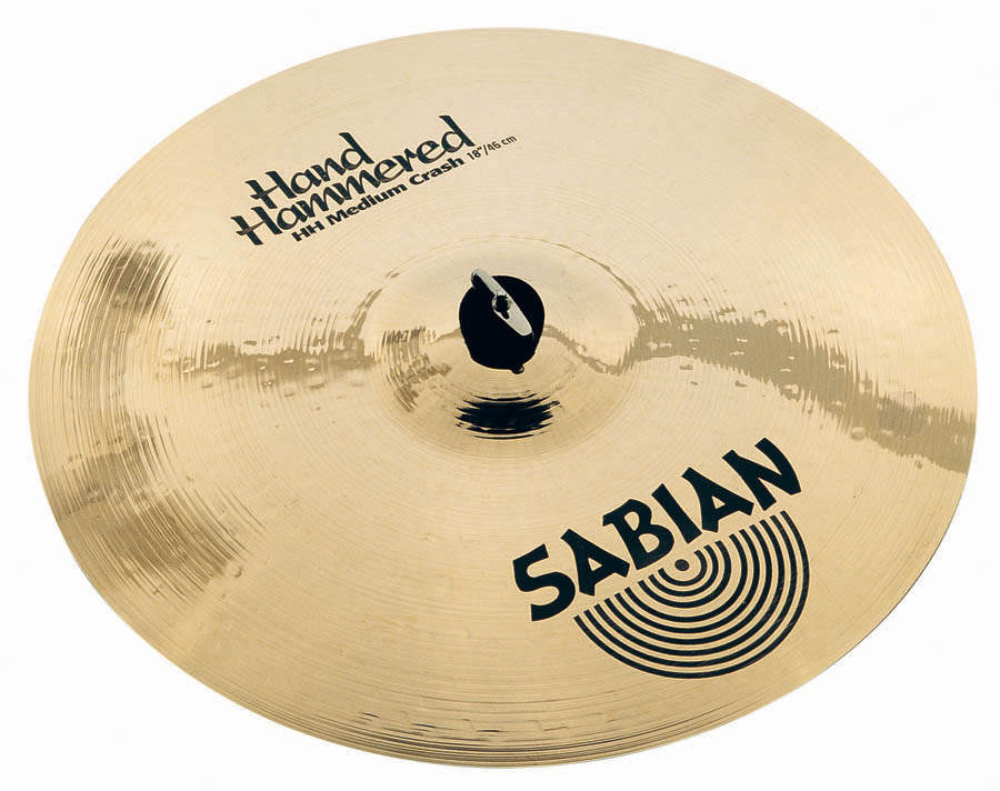 "Sabian 18"" HH Medium Crash Cymbal Brilliant Finish"