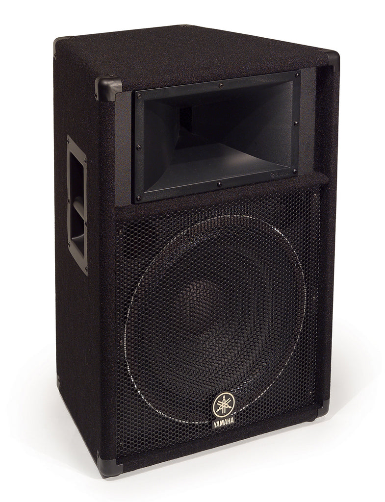 "Yamaha S115V Carpeted 15"" 2-Way Passive Loudspeaker"