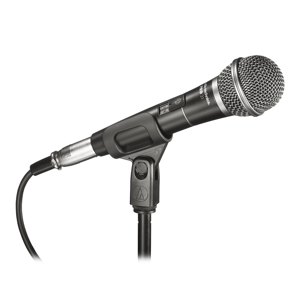Audio-Technica PRO31 Cardioid Dynamic Vocal Microphone With 15' XLR Cable