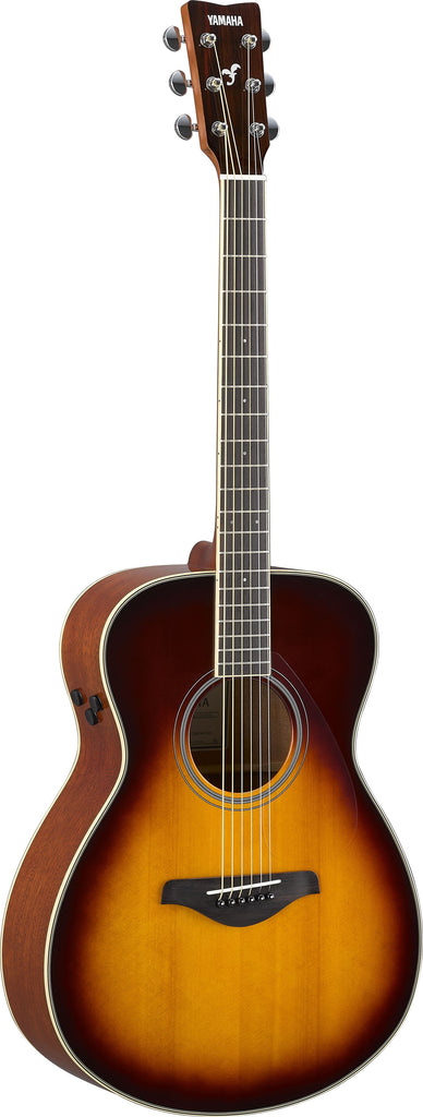 Yamaha FS-TA TransAcoustic Acoustic Electric Guitar - Brown Sunburst