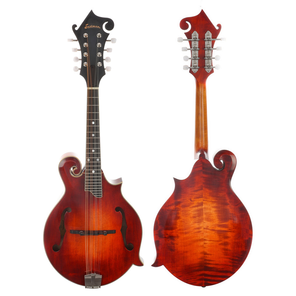Eastman MD515/v Spruce/Maple F-Style Mandolin - Antique Varnish