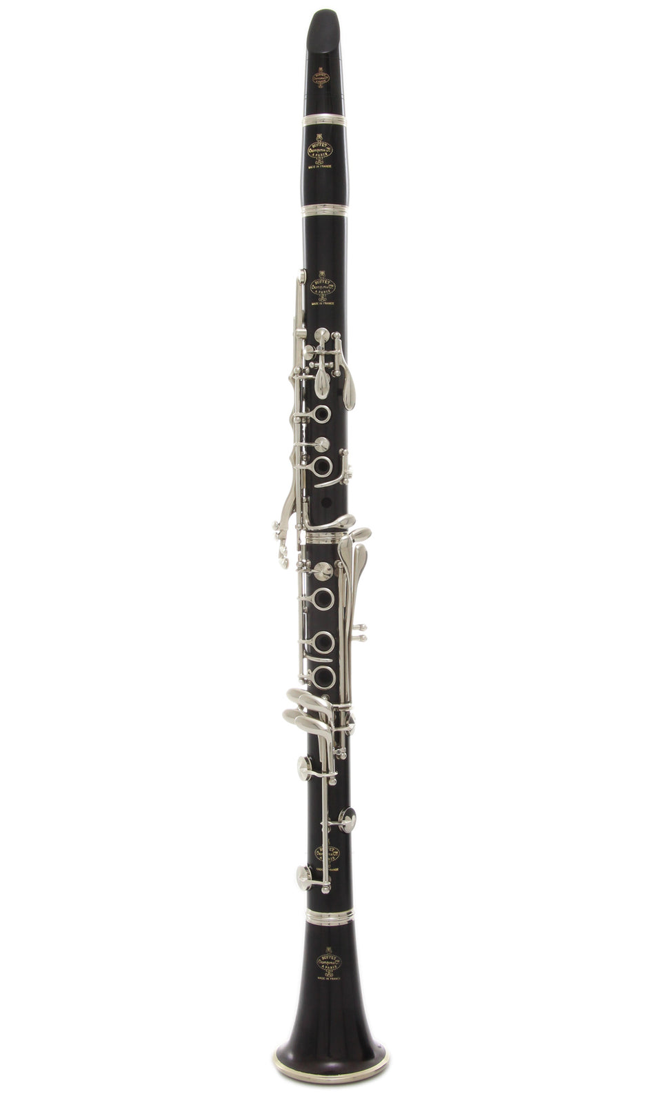 Buffet Crampon BC1231-5-0 R13 A Clarinet, Nickel Plated Keys