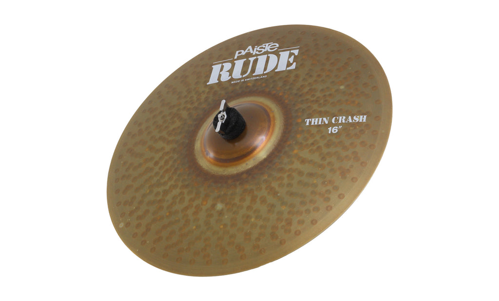 Paiste Rude Thin Crash Cymbal
