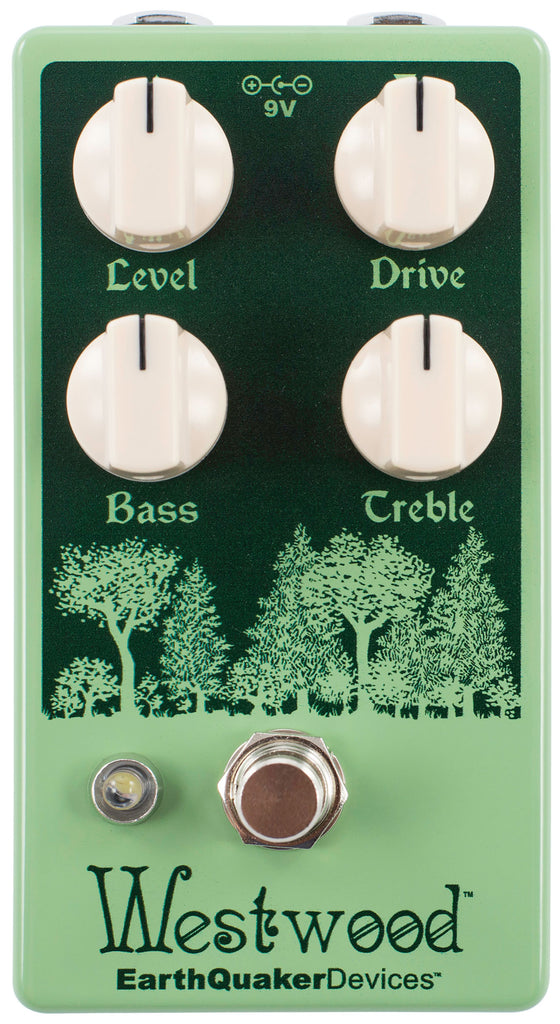 EarthQuaker Devices Westwood Translucent Drive Manipulator Pedal