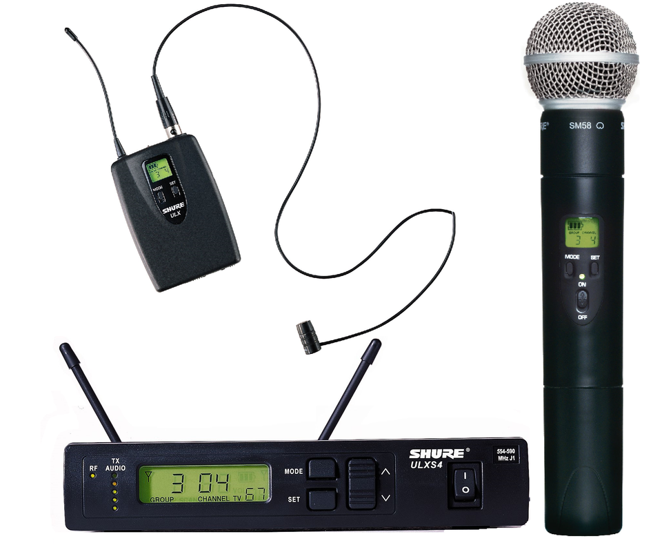 Shure ULXS124/85 Combination Wireless Microphone System